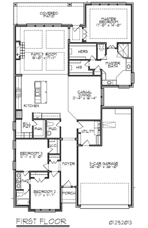 trendmaker homes 2473 sq ft new home floor plan