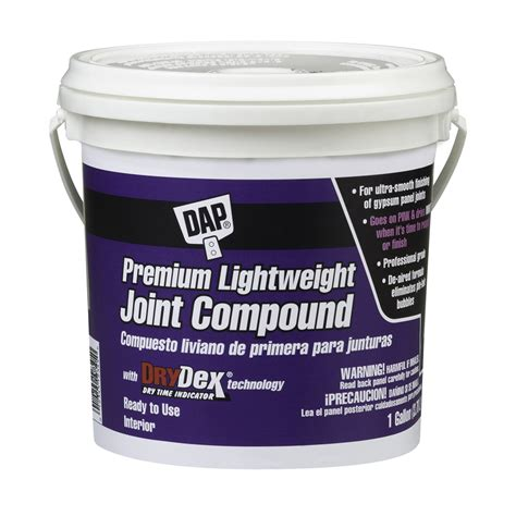 shop dap drydex 1 gallon premixed lightweight drywall