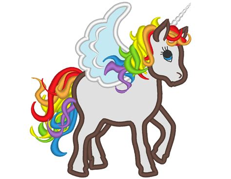 embroidery design unicorn rainbow unicorn machine embroidery designs applique