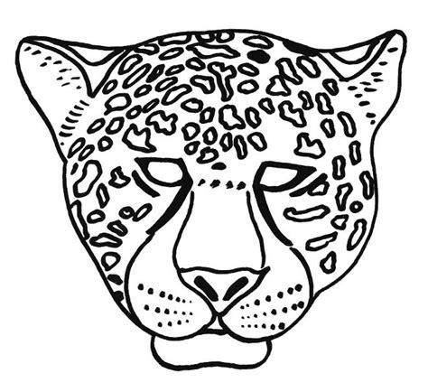 imagenes de jaguares para dibujar coloriage masque les beaux dessins de meilleurs dessins