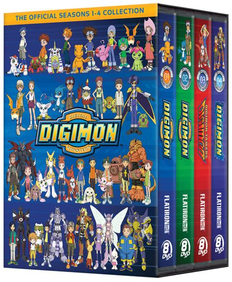 best digimon season digimon seasons 1 4 dvd