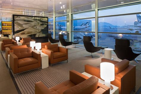 The Cabin Lounge Hong Kong Airport by Cathay Pacific S New Bridge Lounge At Hong Kong