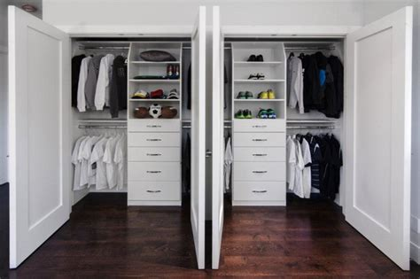 Kids Bedroom Dresser Double Reach In Closets In Saratoga Traditional Closet
