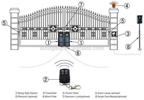swing gate opener installation automatic wheel swing gate opener with 0 100mm lift gap