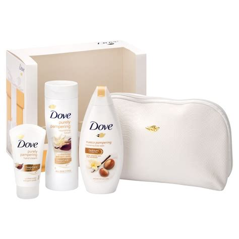 Dove Gift Pouch dove be you wash bag gift set free shipping lookfantastic