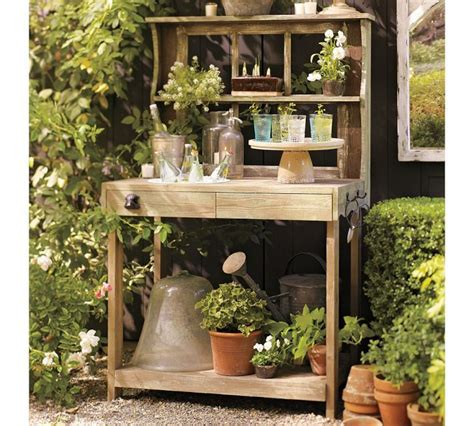 potting bench bar potting bench is also outdoor bar pottery barn http