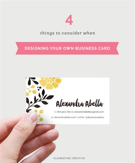 tips for business cards tips for designing your own business card part 1