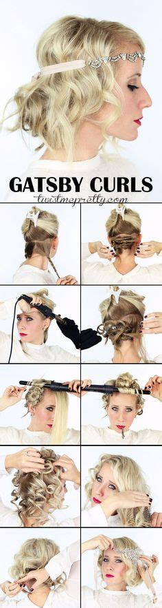 diy 1920s hairstyles 1000 ideas about 1920s hair tutorial on pinterest great