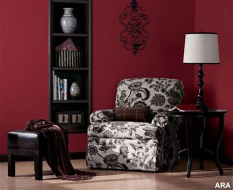 wine red bedroom home design tips interior painting projects
