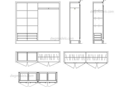 Floor Plan Detail Drawing by Wardrobe Details Dwg Free Cad Blocks Download