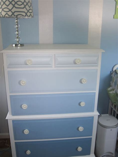 Baby Room Dressers by Baby Boy Nursery Ombre Dresser Bears Room