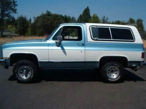 1989 Chevrolet K5 Blazer Buy Used 1989 Chevy K5 Blazer 4x4 Rust Free Low In