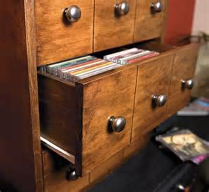 diy cd storage build a cd storage cabinet canadian home workshop