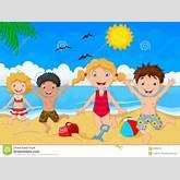 Cartoon Summer Day Stock Vector - Image: 53892355