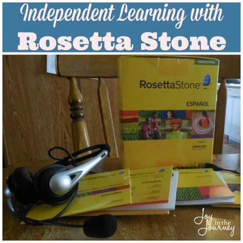 rosetta stone youtube spanish independent learning with rosetta stone joy in the journey