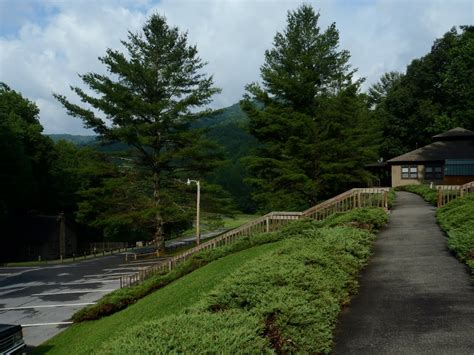 panoramio photo of cabin parking roan mountain state park