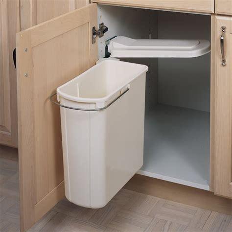 Rev A Shelf Single Pivot Out Trash 20 Liter White 8 700411