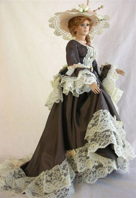 porcelain doll history beautiful style and history on