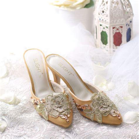 High Heels Sandal Selop sandal selop rosanne emas slightshop
