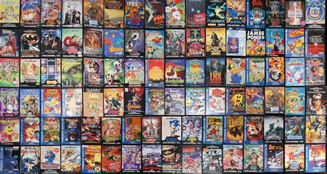 my games retro video gaming