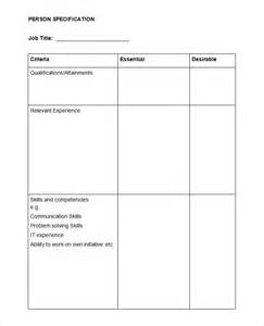 Spec Letter Template Hr Strategy Template 39 Word Pdf Documents Download