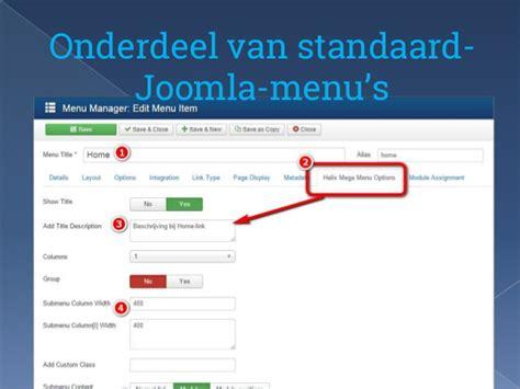 template joomla maken templates maken met helix framework joomla user group