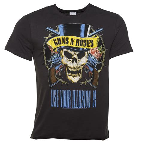 Tshirt Guns N Roses 2 s charcoal guns n roses use your illusion t shirt
