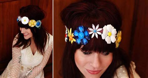 12 Floral Inspired Things To Own by How To Make Your Own 1960 S Inspired Mod Floral Hair