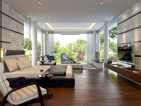 Master Bedroom, modern tropical Sentul Jakarta
