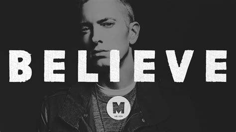 eminem believe lyrics eminem type beat quot believe quot prod by mr kdn youtube