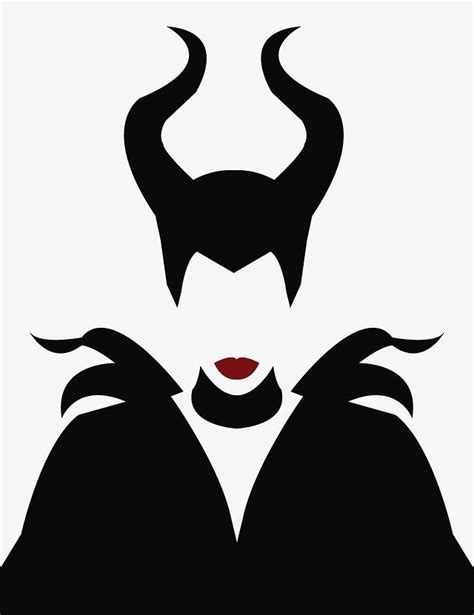 maleficent illustration vector art pinterest