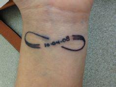 infinity tattoo with roman numerals tattoos on pinterest 121 pins