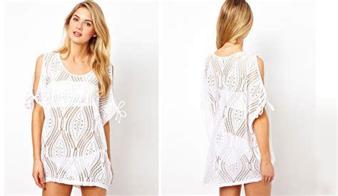 Cover Ups Honeymoon Swimwear White Cover Ups