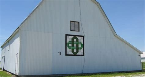Detox Chaign County Ohio by Interlocking Chain Barn Quilt Miami County Ohio Barn