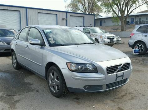 volvo s40 t5 awd 2007 volvo s40 t5 awd for sale at copart albuquerque nm