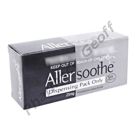 Stugeron 25mg 10 S allersoothe promethazine hydrochloride 25mg 50 tablets allergies pharmacy geoff