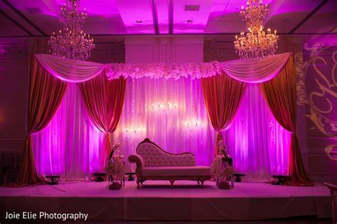 Reception in Aberdeen, NJ Indian Wedding by Joie Elie