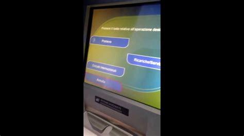 bancomat banco popolare nuovo bancomat totalmente touch screen banco popolare