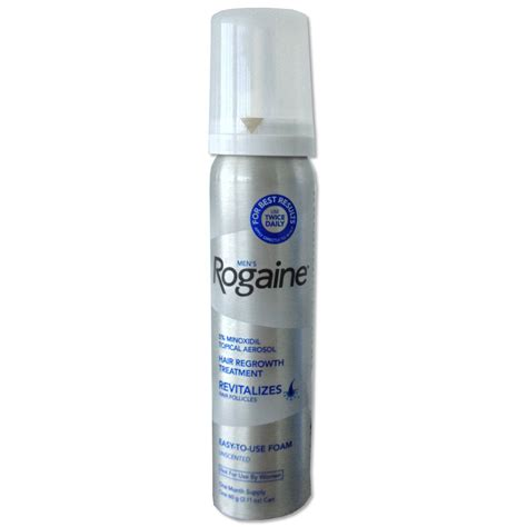 would rogaine be helpful to a 66 year old woman who has some success with pantene rogaine foam for hair loss thinning hair