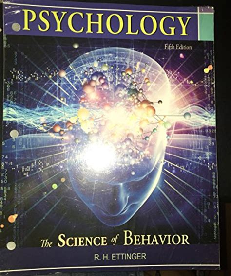 lectures on the psychology of fifth edition books psychology the science of behavior 5th fifth edition