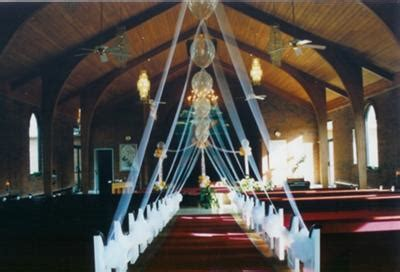 new year decoration in the church clouds ceiling raining indoor wedding supplies