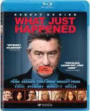 what just happened on blu ray disc review by greg robinson