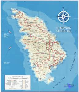 map if sifnos map of sifnos