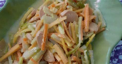 resep acar kuning timun wortel enak  sederhana
