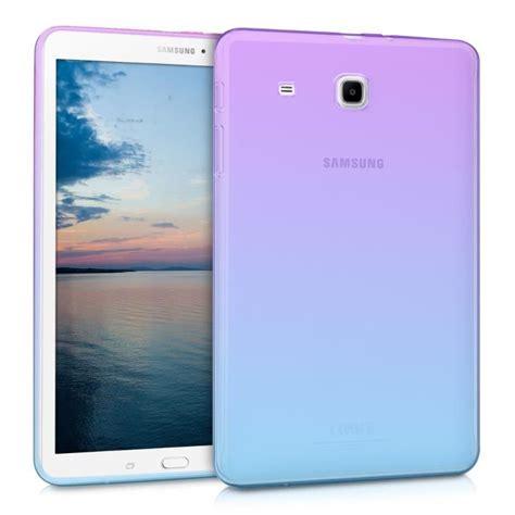 Samsung Tab 2 Kw kwmobile 201 tui transparent pour samsung galaxy tab e 9 6 en silicone tpu coque tablette housse de
