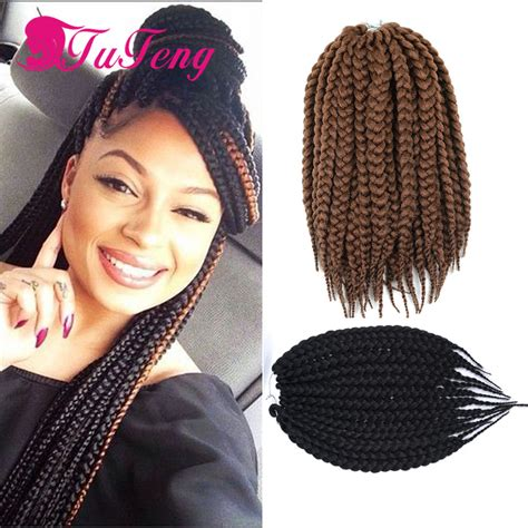 senegalese twist wet dry hot crochet box braids hair extensions 12 14 inch