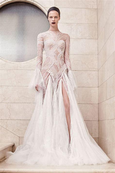 Atelier Versace Wedding Dresses by коллекция Atelier Versace Haute Couture осень зима 2017 2018