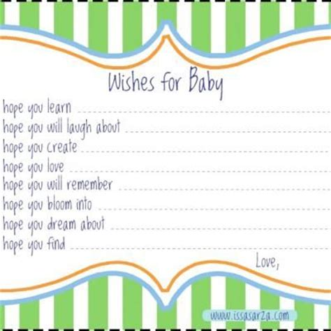 wishes for baby template wishes for baby template i may just make my own on word