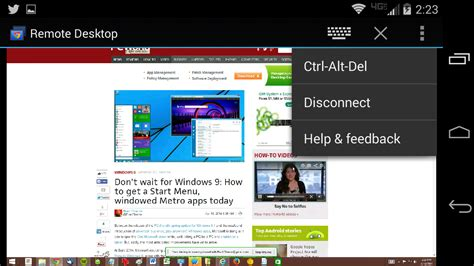remote desktop android on chrome remote desktop app for android makes remote pc access easy greenbot