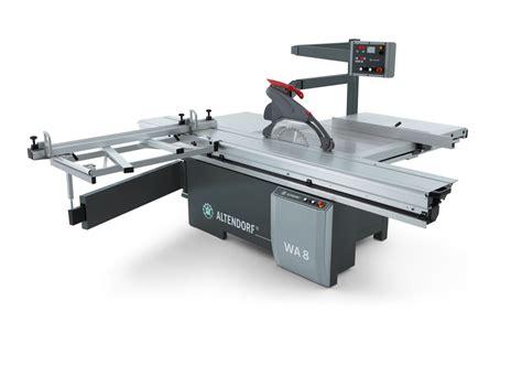 altendorf sliding table saw altendorf wa8x 1 axis sliding table saw akhurst machinery